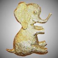 Adopt this Large Playful & Fun Elephant (Signed J.Freides)