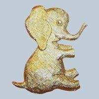 Large Playful & Fun Elephant (Signed J.Freides)