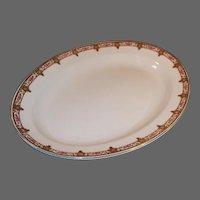 """W. H. Grindley Normandie 13 1/2"""" Platter"""