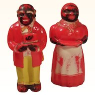 """5"""" Tall Aunt Jemima & Uncle Mose F&F Mold & Die Works"""