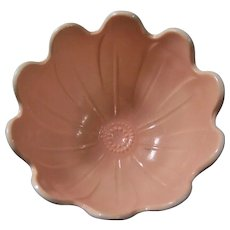 Anchor Hocking Pink Blossom Vitrock Bowl