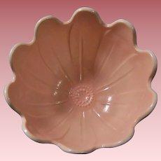Anchor Hocking Pink Blossom Vitrock Bowl
