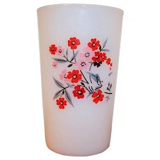 Fire King Primrose 5 ounce Juice Tumbler
