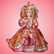 "Vintage Hard Plastic ""Nations"" Doll"