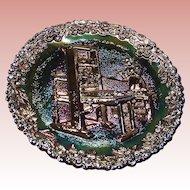 "Fenton Carnival Glass ""Craftsman in America Series"" No. 2 Colonial Printing Press"