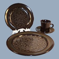 Franciscan Madeira Place Setting
