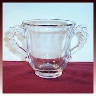 Imperial Glass Candlewick Sugar