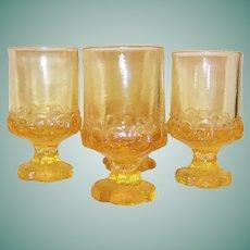SET of 4: Tiffin Franciscan Madeira Juice / Wine Tumblers