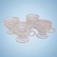 Set of 4: Whitehall Footed Punch or Snack Cups