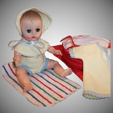 1950's Vogue Ginnette Swim Set, Towel, Doll, Romper, Bonnet, Coat