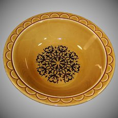 1960's Granada Coventry Castilian Harvest Gold Large Serving Bowl