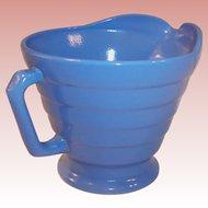 1950's Hazel Atlas Moderntone Pastel Blue Creamer