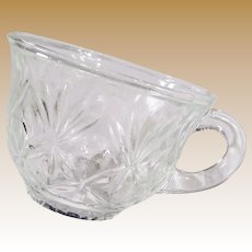 Set of EIGHT: Hazel Atlas Heritage Punch Cups