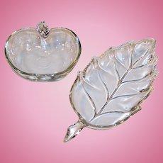 Hazel Atlas Vintage Leaf & Orchard Glassware