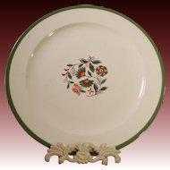 """1969 Homer Laughlin 12 1/2""""  Round Chop Plate / Platter"""