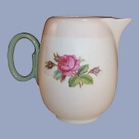 Homer Laughlin Moss Rose Individual or Demitasse Coffee /  Tea Pot