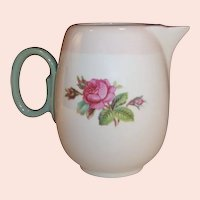 Homer Laughlin Moss Rose Individual or Demitasse Coffee /  Tea Pot