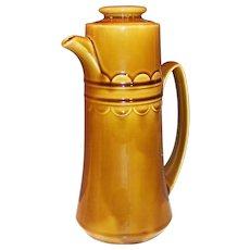 1960's Granada Coventry Castilian Harvest Gold Coffee Pot