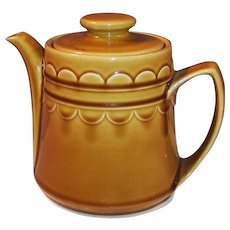 1960's Granada Coventry Castilian Harvest Gold Tea Pot