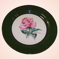 "Homer Laughlin Rhythm Rose 7 1/4"" Plate"