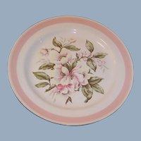 Homer Laughlin Eggshell Nautilus Pink Petal Dinner Plate