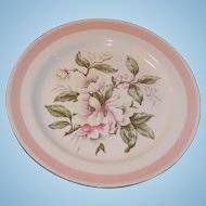 Homer Laughlin Eggshell Nautilus Pink Petal Dinner Plate