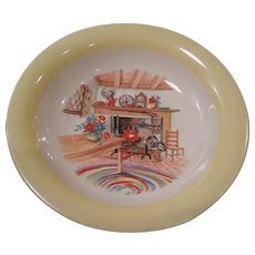 "Homer Laughlin Colonial Kitchen 8"" Soup Bowl"