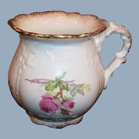 Excellent Homer Laughlin Bridal Shape Victorian Brush or Shaving Mug / Pitcher
