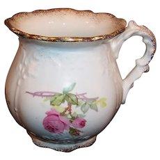 Excellent Homer Laughlin Bridal Shape Victorian Brush or Shaving Mug / Pitcher