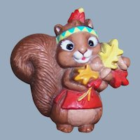Hallmark Fall Autumn Squirrel Pin