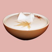 Iroquois China Ben Seibel Informal HARVEST TIME Sugar Bowl and Lid