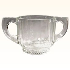 """Indiana Glass """"Peerless Colonial"""" Double Handled Sugar"""