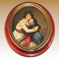 Madame Vigee Lebrun & Daughter Self Portrait