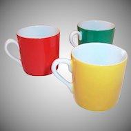 Espresso Cups & Creamer Trio
