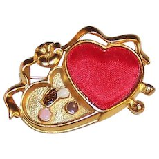 Danecraft Valentine Heart Candy Pin