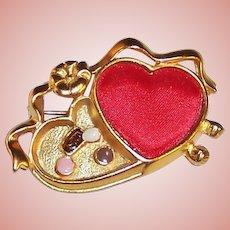 Danecraft Valentine Heart Candy Pin