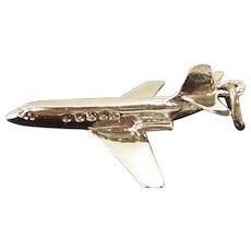 Vintage 1970's Jet Airplane Bracelet