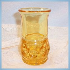 King's Crown Amber Tumbler