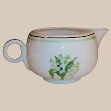 Homer Laughlin Lily of the Valley Swing Creamer