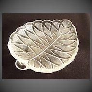 Indiana Glass Pretzel Pattern Olive Dish
