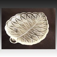 Indiana Glass Pretzel Pattern Olive Dish