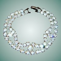 Vintage Sparkling Rhinestone Bracelet