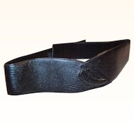 Vintage Liz Claiborne Wide Leather Waist Belt