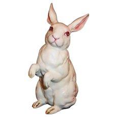 Excellent!  Vintage Lefton Japan H880 White Albino Easter Rabbit