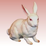 Excellent! Vintage Lefton Albino Bunny Rabbit  H880