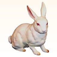 Excellent! Vintage Lefton Albino Bunny Rabbit  H880