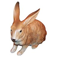 LARGE Lefton Brown Bunny Rabbit H6661 --perfect for the Baby Nursery