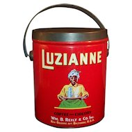 Vintage (3 Pound) Luzianne Coffee Tin