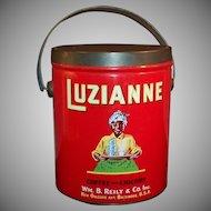 Vintage (3 Pound) Luzianne Coffee Tin