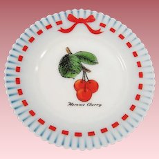 "Monax Petalware Florence Cherry Decorative 8"" Plate"
